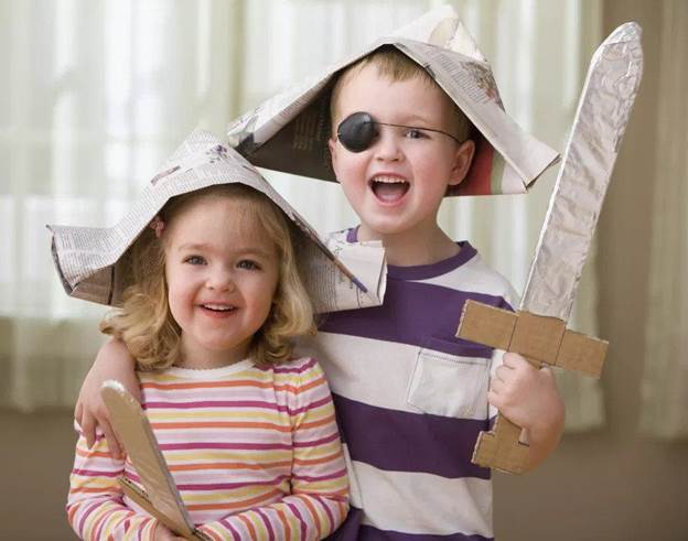 4. How To Make A Newspaper Pirate Hat