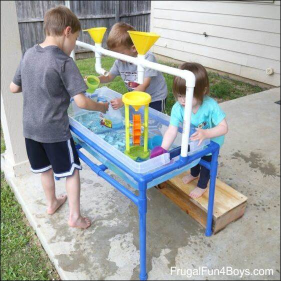 4. How To Make A PVC Pipe Sand And Water Table