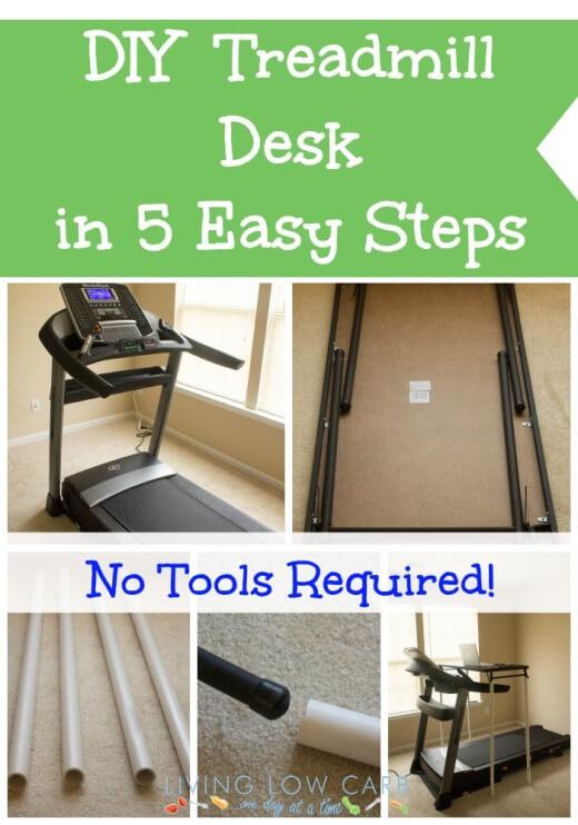 4. Less Than $5 DIY Treadmill