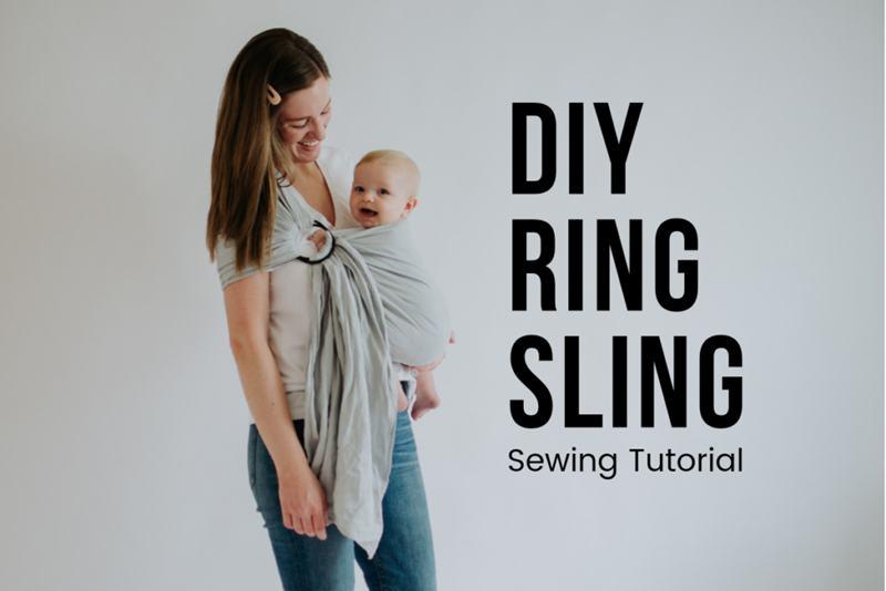 4. Ring DIY Baby Sling