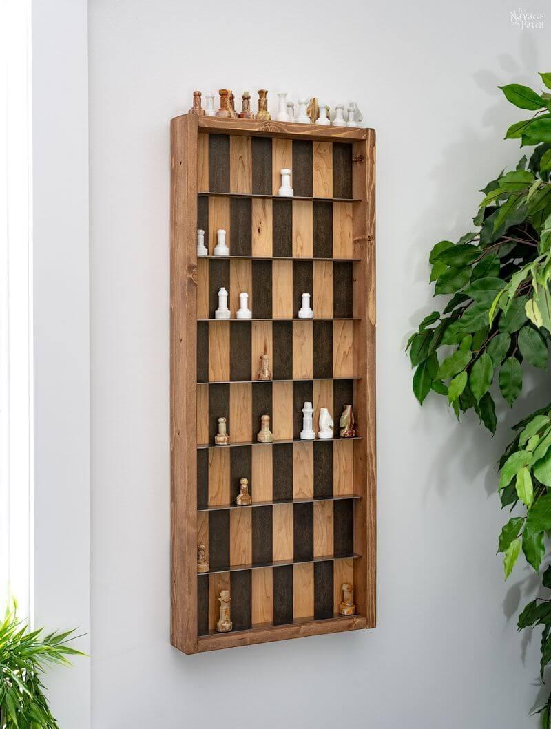 4. Vertical DIY Chess Board