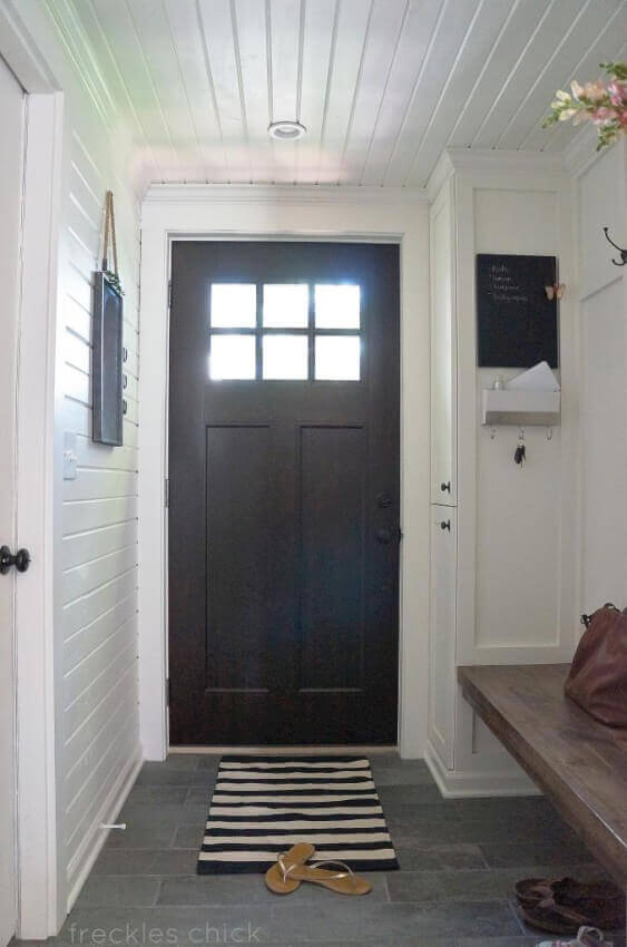 5. An indoor porch