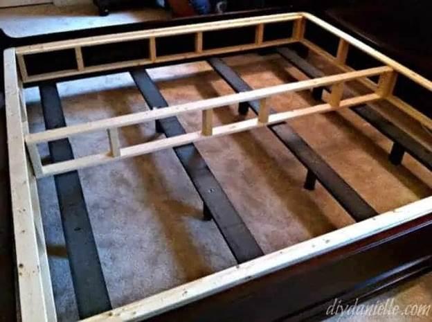 5. DIY Box Spring