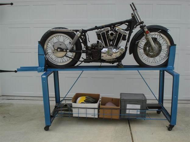 5. DIY Motorcycle Work Stand