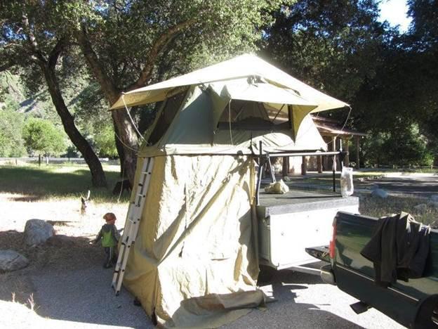 5. DIY Roof Top Tent Camper