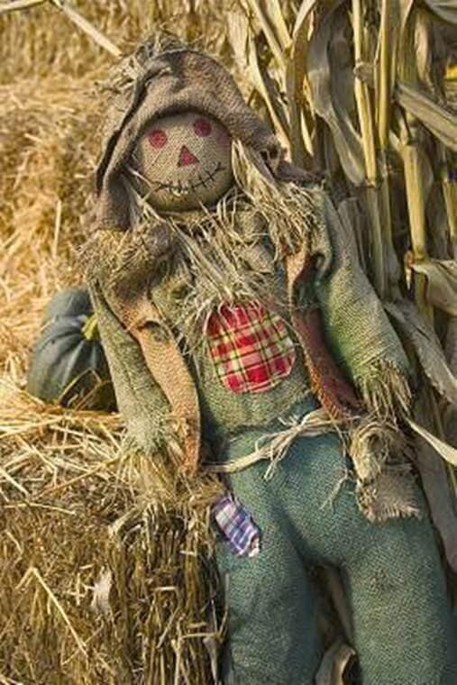 5. DIY Scarecrow