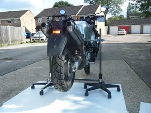 5. Homemade Bike Stand