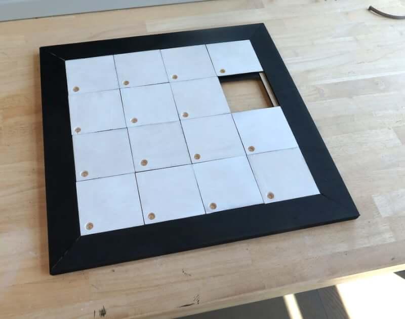 5. WOODEN Sliding Puzzle DIY