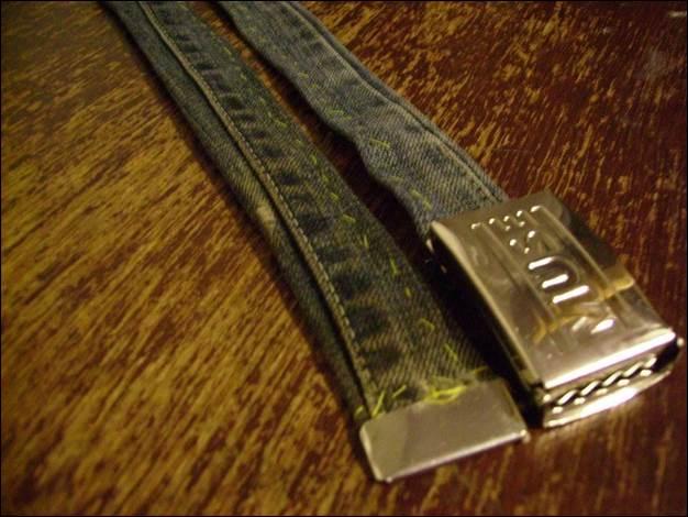6. DIY Denim Belt