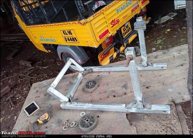 6. DIY Paddock Stand