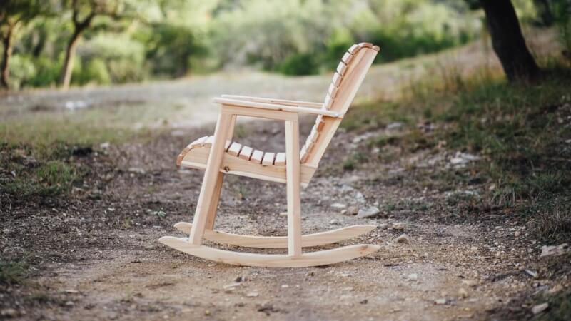 6. DIY Rocking Chair