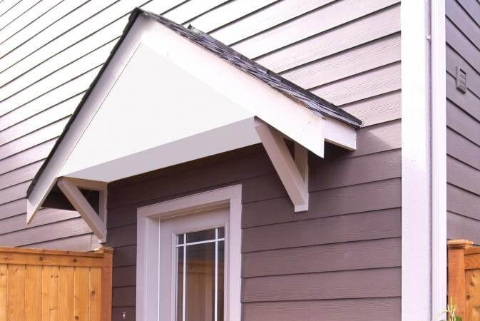 6. How To Build A Wood Awning Over A Door