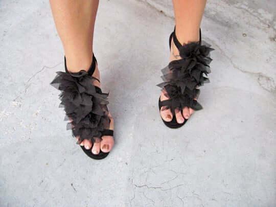 6. Petal Sandals DIY