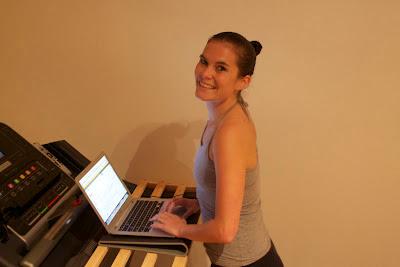 6. Wooden Straps Homemade DIY Treadmill