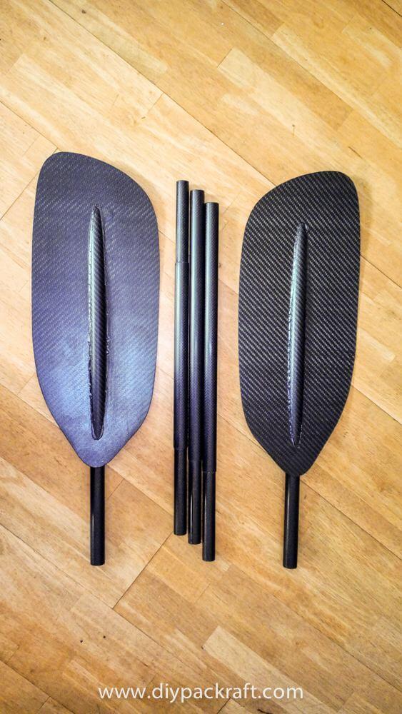 7. 5 Piece Carbon DIY Paddle Board