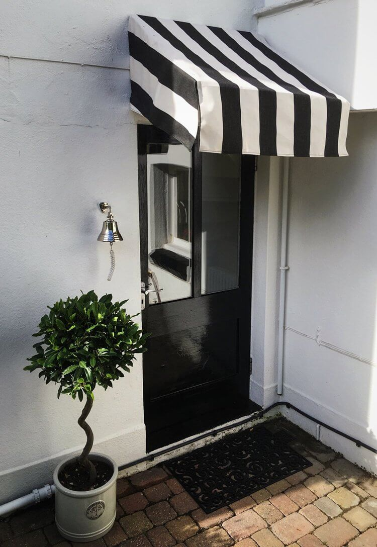 7. DIY Back Door Awning