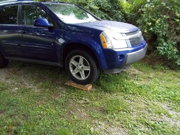 7. DIY Inexpensive Car Ramp