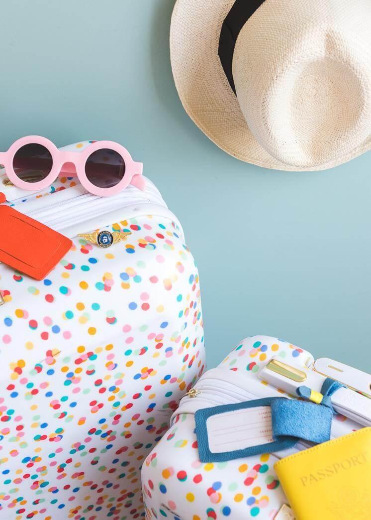 7. DIY Luggage Tag