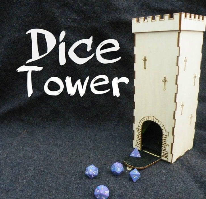 7. Homemade Dice Tower