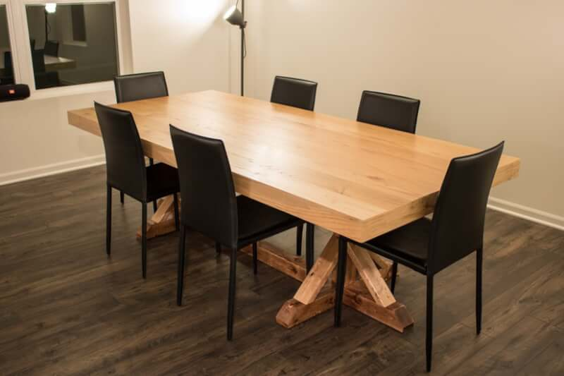 7. Thick Table Top DIY