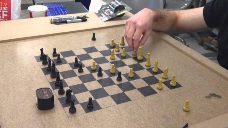 7. Wood Carvers DIY Chess Board