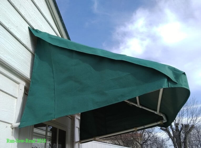8. DIY Front Door Awning