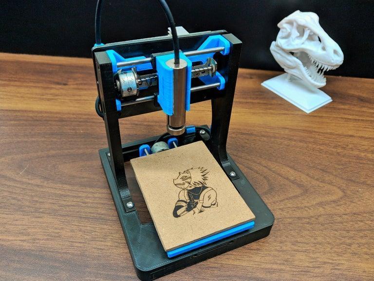 8. DIY Mini CNC Laser Engraver