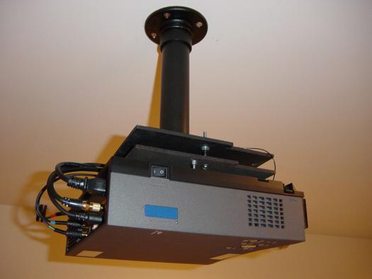8. DIY Projector Ceiling Mount