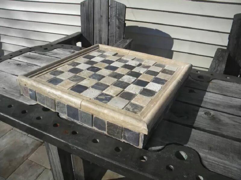 8. Garden DIY Chess Board