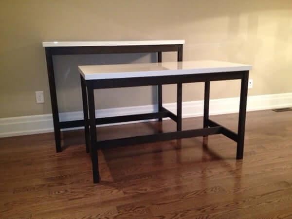 8. VIKA AMON Table Top DIY