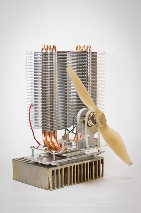 9. DIY Wood Stove Fan