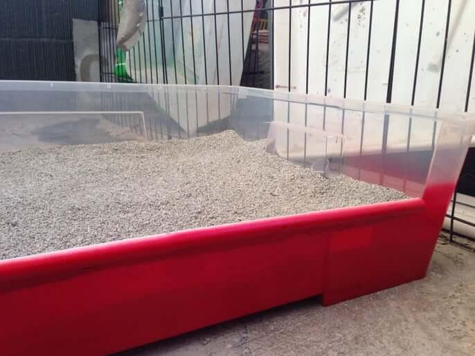 9. Giant Cat Litter Box DIY