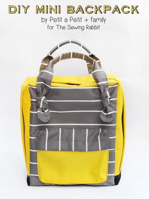 DIY Backpack Ideas