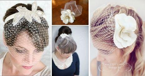 DIY Birdcage Veils