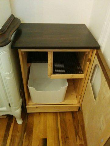DIY Cat Litter Box Plans