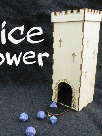 DIY Dice Tower Ideas