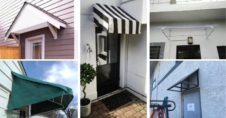 DIY Door Awning