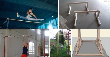 DIY Gymnastics Bar Plans