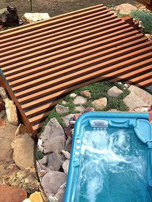DIY Hot Tub Cover Ideas