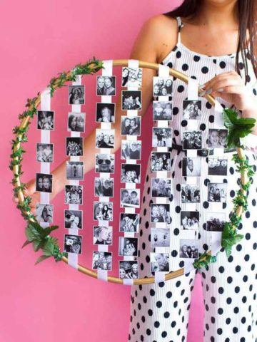 DIY Hula Hoop Ideas