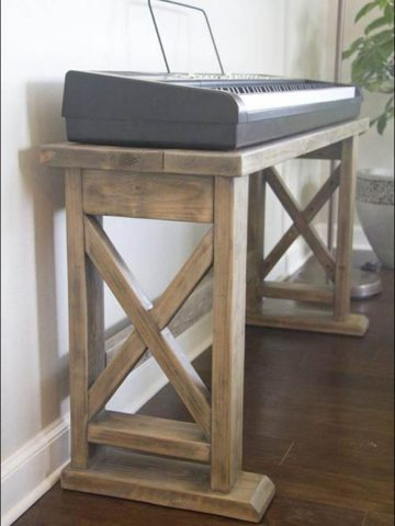 DIY Keyboard Stand Projects