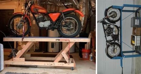 DIY Motorcycle Lift Plans