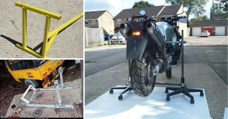 DIY Motorcycle Stand Projects