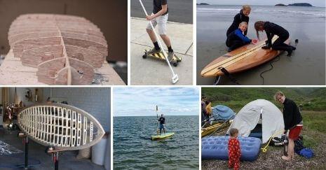DIY Paddle Board