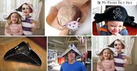DIY Pirate Hat Ideas