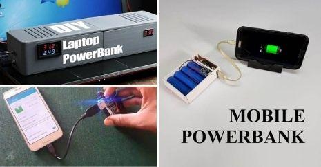 DIY Power Bank Project