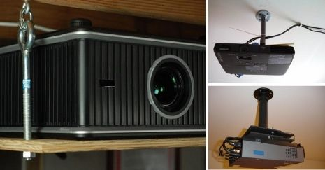 DIY Projector Ceiling Mount Ideas