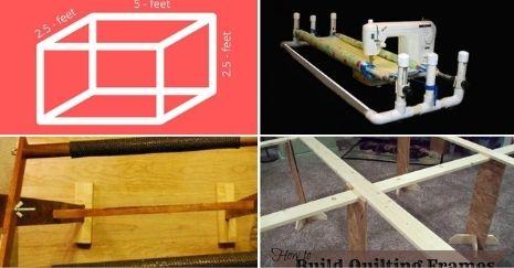 DIY Quilting Frame Plans