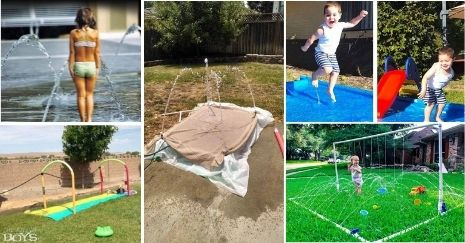 DIY Splash Pad Ideas