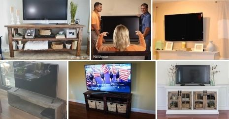 DIY TV Mount Ideas